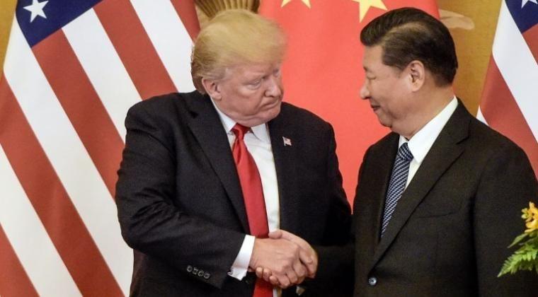 Pemimpin AS Donald Trump dan pemimpin China Xi Jinping | Sumber gambar : harnas.co
