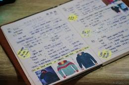 Catatan Manual saat masih berbisnis Online Shop di tahun 2012 (Dok.Pri)