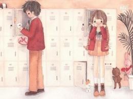 Seringnya bertemu di tempat yang sama juga bisa membuat para remaja ingin menikah muda dengan teman sekelasnya. (Idntimes.com/instagram/fahfahfahs)