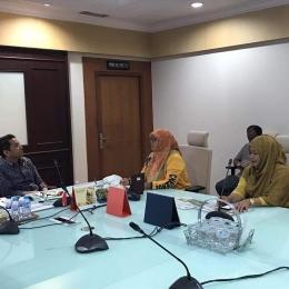 Pertemuan Rumah KerLiP dengan Rektor UIN Alaudin Makasar