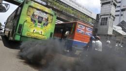 Polusi udara di ibukota Jakarta via kanal73.com