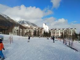 Suasana di Rusutsu Ski Resort (dokpri)