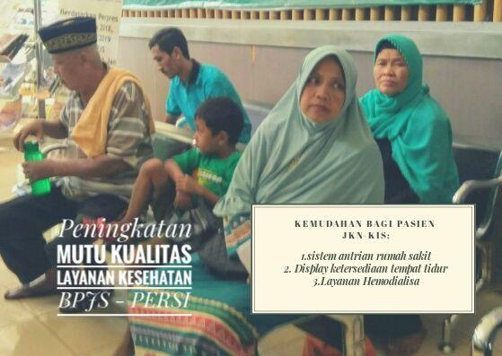 BPJS dan PERSI (perhimpunan Rumah Sakit Indonesia) berkomitmen meningkatkan mutu kualitas pelayanan kesehatan kepada pasien JKN-KIS 9dok.windhu)