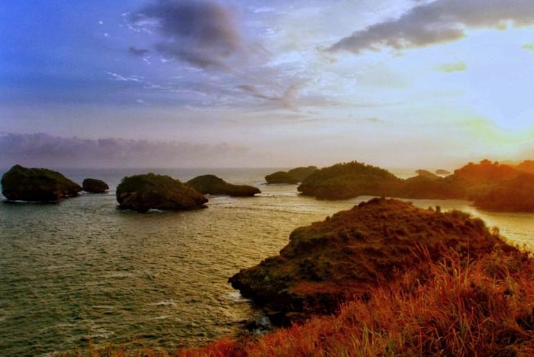 Pantai Kasab Pacitan, saat kemarau | Nanang Diyanto Beku