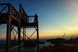 Kondisi sekarang, Pantai Kasab dilengkapi dengan gardu pandang spot buat selfie | Nanang Diyanto Beku