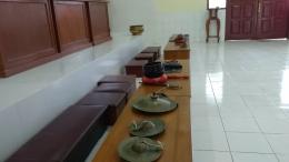 Peralatan peribadatan agama Budha/dokpri