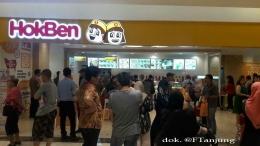 Suasana undangan yang hadir saat perkenalan HokBen sebelum pembukaan di SUn Plaza, Medan (27/01/20). dok. @ftanjung