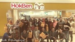 Para blogger Medan menjelang santap malam. dok. @ftanjung