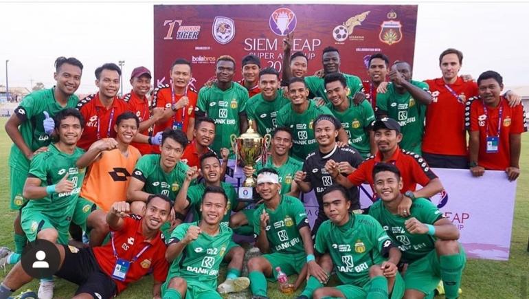 Tim Bhayangkara layak disebut The Dream Team Musim ini. (Instagram Bhayangkara FC)