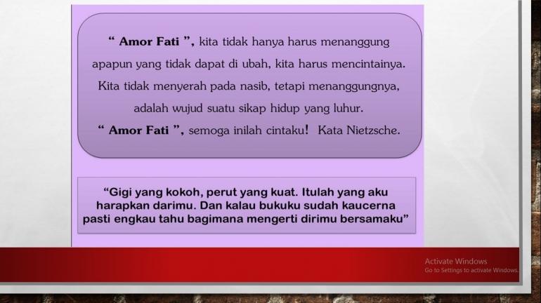 """Nietzsche """"Amor Fati"""""""