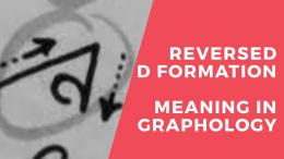 Apa Arti Tanda Kepribadian Reversed D Formation menurut Grafologi? | dokpri Faceook Johan D. Gunawan