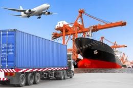 Ilustrasi cargo darat, laut & udara - alghanimgroup.com