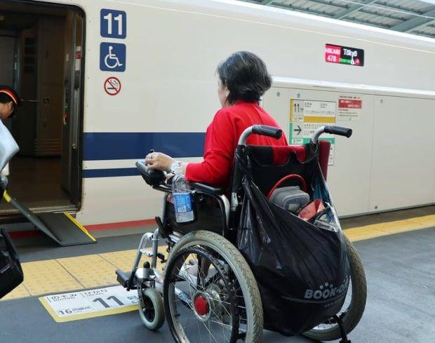 Dokumentasi pribadi   Aku menuju kereta Shinkansen