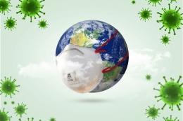 Ilustrasi wabah virus Corona (Sumber: Shutterstock via kompas.com)