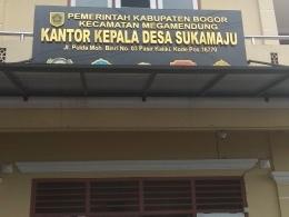 Kantor Desa Sukamaju,  Kecamatan Megamendung, Kabupaten Bogor