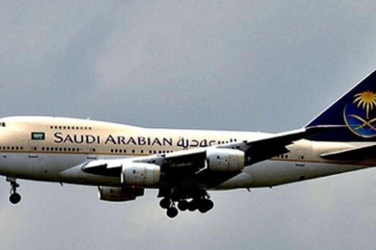 Penerbangan Saudi Airlines | Sumber : ekonomi.kompas.com