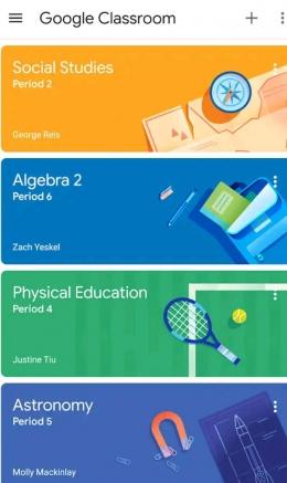 contoh Salah satu Aplikasi Grub pembelajaran online
