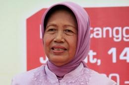 Ibunda Presiden Joko Widodo Hj Sudjiatmi Notomiharjo/Kompas.com