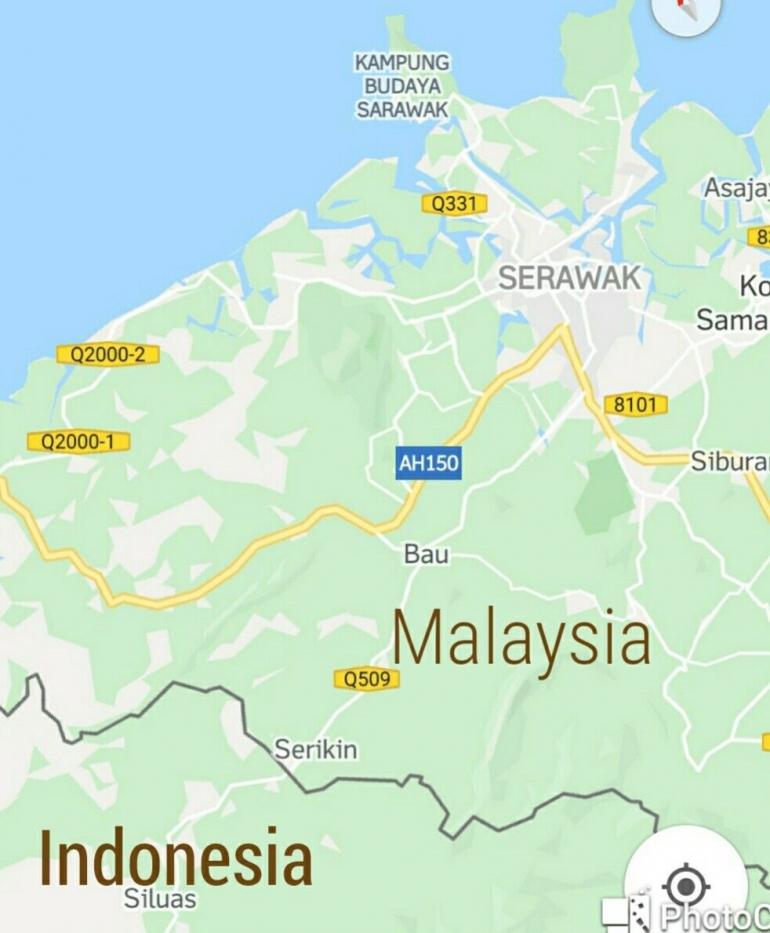 Diambil dari peta oleh Goggle Maps
