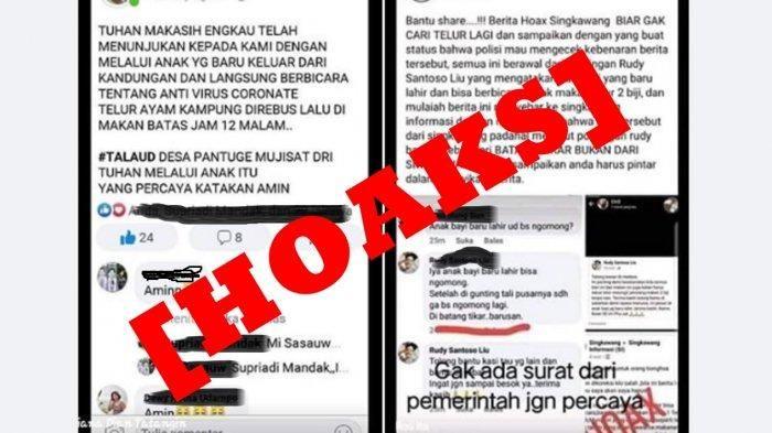 Tangkapan layar facebook, gambar diambil dari Tribun Manado