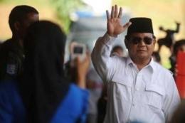 Prabowo Subianto. Foto kompas.com/wawan h prabowo