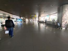 Bandara Sepi Dampak Wabah Corona (Dokpri)