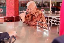 Bunsu Anton Triono saat wawancara bersama kami