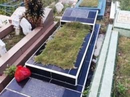 Makam Andy Liany di Tanjungpinang, Provinsi Kepulauan Riau (batamnews.co.id/Yogi Eka Sahputra)