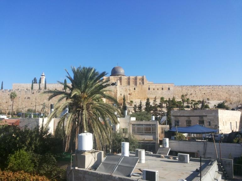 Kota Yerusalem - dokpri Bobby MSF