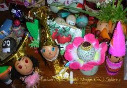 Telur Paskah yang dihias pada waktu Paskah 2012. Photo by Ari