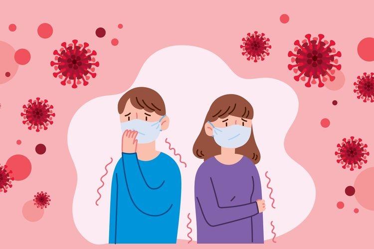 ilustrasi orang di tengah pandemi. (sumber: shutterstock via kompas.com)