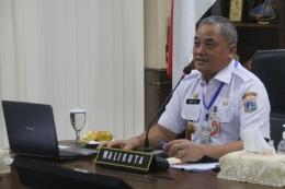 Wali Kota Jakarta Pusat, Bayu Meghantara (dokpri)