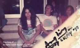Sang Rockstar di masa jaya/Dok.pribadi Al Hafez Saleh Rachim (Oj Rock)