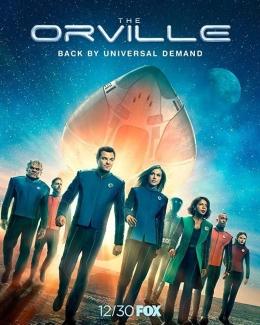 Poster The Orville Season 2 (sumber: Fox.com)