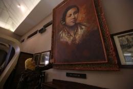 Salah satu sudut Museum Kartini di Jepara, Jawa Tengah (KOMPAS.com / ANDREAS LUKAS ALTOBELI)