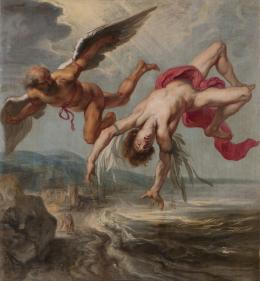 Gowy Jacob Peter La caida de icaro, the polyster canvas of oil painting, 20 x 22 inch / 51 x 56 cm, 1936 (amazon.com)