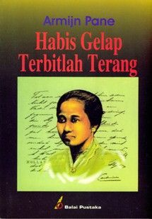 R.A. Kartini dalam bingkai sampul buku Habis Gelap Terbitlah Terang, terbitan kedua, tahun 1922. (Sumber: id.wikipedia.org)