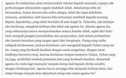 Potongan surat Kartini pada sahabatnya ( Foto : steemit.com)