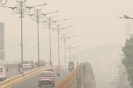 Kabut asap di Riau Tahun 2019 (dok. kompas.com)