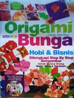 Buku origami karya Linda Marlina (sumber: dokpri)