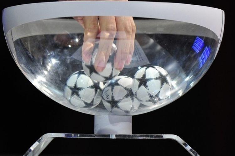 Ilustrasi pengundian Liga Champions. (sumber: Dok. UEFA)
