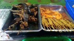 Ilustrasi ikan lele dan nasi pecel. Sumber: Dokpri   ASRUL HOESEIN