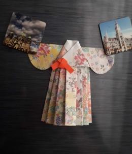 Kreasi Origami Hanbok (Dok-Pri Rasawulan Sari Widuri)