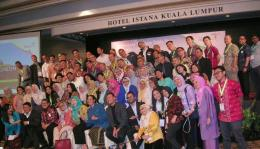 Acara promosi wisata Indonesia di Hotel Istana Kuala Lumpur, Malaysia. (foto: dok. pribadi)