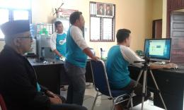 Rapat online dari Desa dengan Provinsi dan Pusat | Dokpri