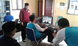 Suasana di Kantor Tim Smart Gampong | Dokpri