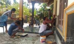 ilustrasi tradisi bersih-bersih rumah dok.cendananews.com