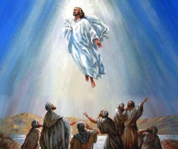 Ilustrasi Kenaikan Yesus ke Surga.   sumber: Fokushidup.com