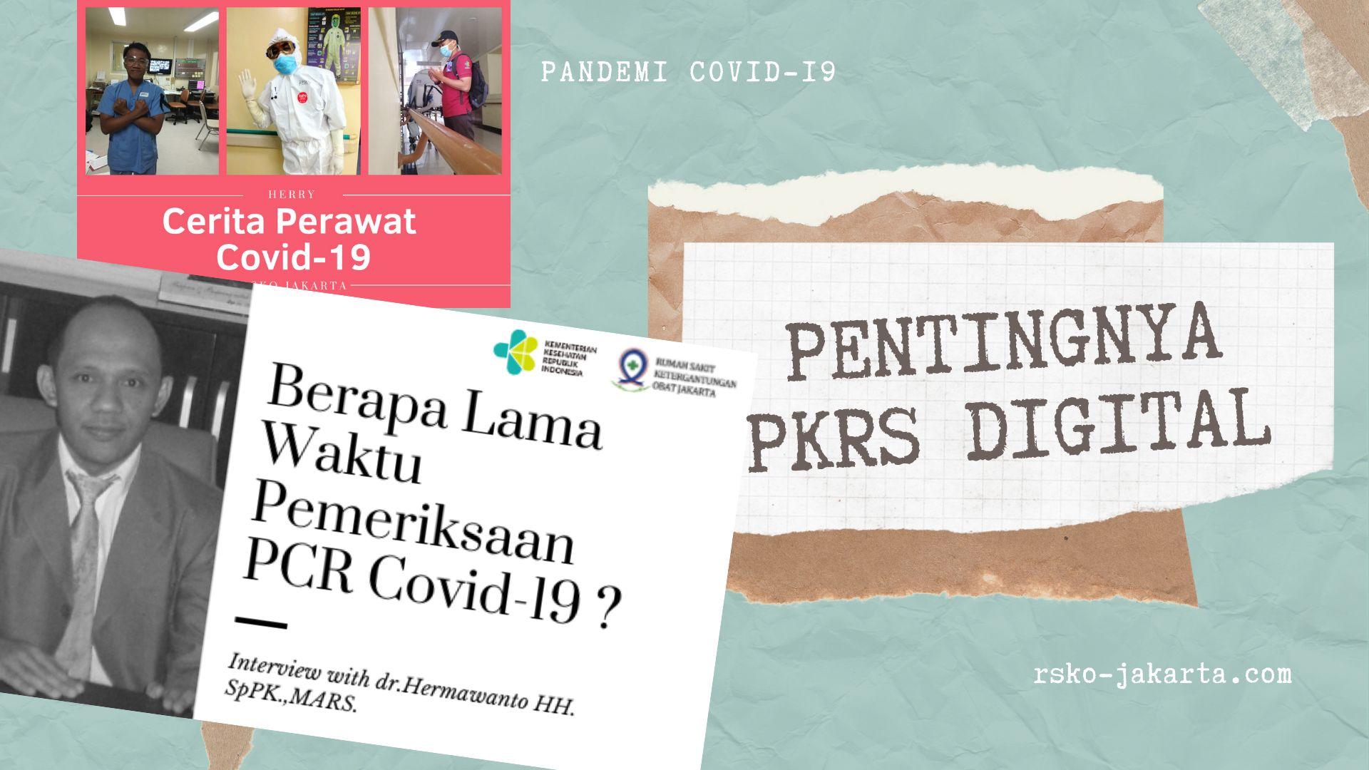 Deskripsi : PKRS Digital di masa Pandemi Covid-19 I Sumber Foto : dokpri