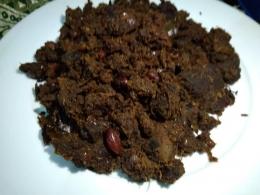 Rendang kacang dan kentang (pict : dok. pribadi )